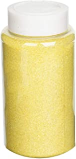 Efavormart 1 Pound Yellow DIY Art & Craft Glitter Extra Fine with Shaker Bottle for Wedding Party Event Table Centerpieces