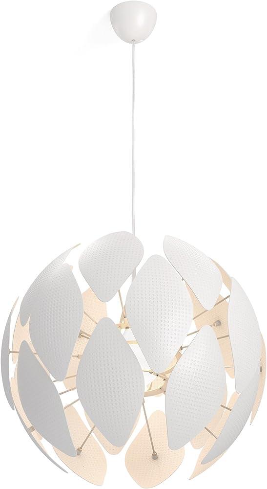 Philips lighting smart volume chiffon, lampadario a sospensione,materiali di alta qualità 4093331PN