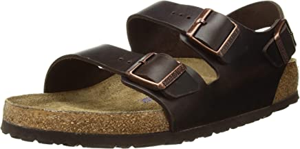 Birkenstock Men's Milano Birko-Flor Wide Sandals