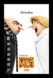 Despicable Me 3 - 11x17 Framed Movie Poster by Wallspace