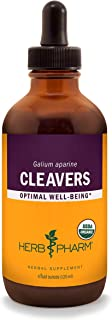 Herb Pharm Certified Organic Cleavers Liquid Extract - 4 Ounce
