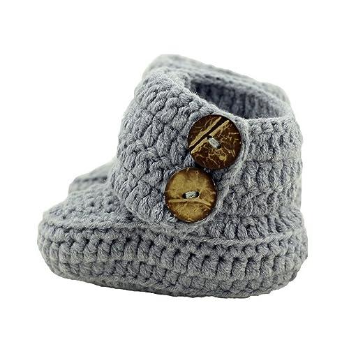 ca5407a77d7eb Crochet Baby Shoes: Amazon.com