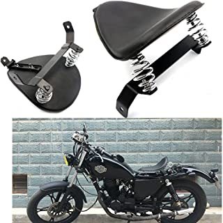 Motorcycle Modify Black SOLO Seat Saddle Bracket Springs Mount Kit For Harley Chopper Bobber Custom Honda Yamaha Kawasaki Suzuki