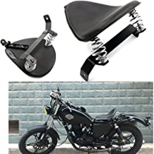 Motorcycle Modify Black SOLO Seat Saddle Bracket Springs Mount Kit For Harley Chopper Bobber Custom Honda Yamaha Kawasaki Suzuki