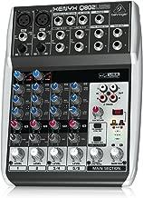 Behringer Xenyx Q802USB Premium 8-Input 2-Bus Mixer with USB/Audio Interface