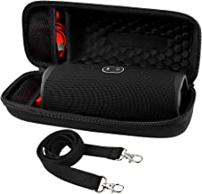 Hard Travel Case for JBL Charge 4 Waterproof Bluetooth Speaker. Carrying Storage Bag Fits Charger and USB Cable - by COMECASE