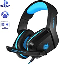PHOINIKAS H1 3.5MM Xbox One Gaming Headset, PS4 Headset...