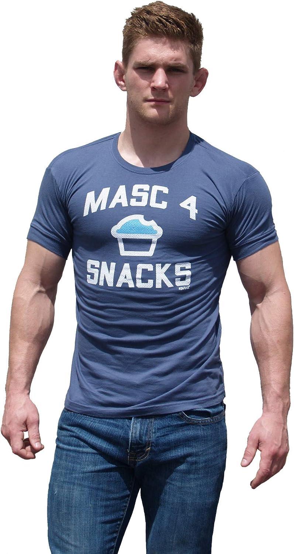 Ajaxx63 Men's AF Masc Ranking Now free shipping TOP3 Snacks 4 T-Shirt