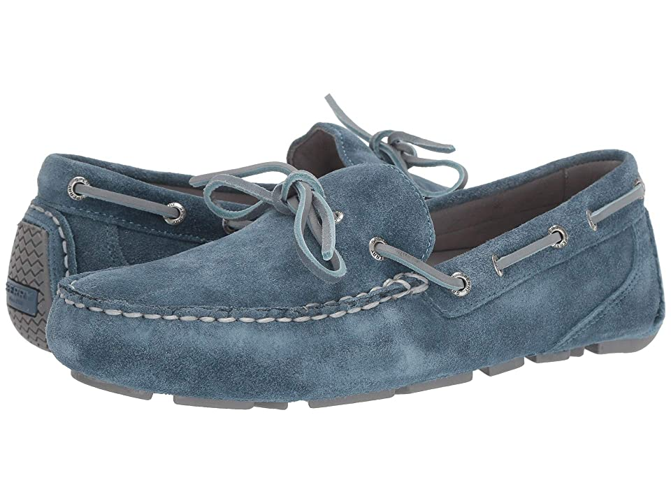 Sperry Gold Cup Harpswell 1-Eye Suede w/ ASV (Blue Mirage) Men