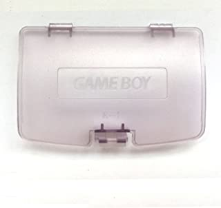 Battery Back Door Cover Case for Gameboy Color GBC Game Boy Color Replaceme Clear Purple
