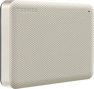 HD Externo Toshiba 4TB Canvio Advance BRANCO - HDTCA40XW3CA