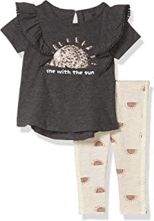Jessica Simpson Girls' Baby and Toddler Layette Set