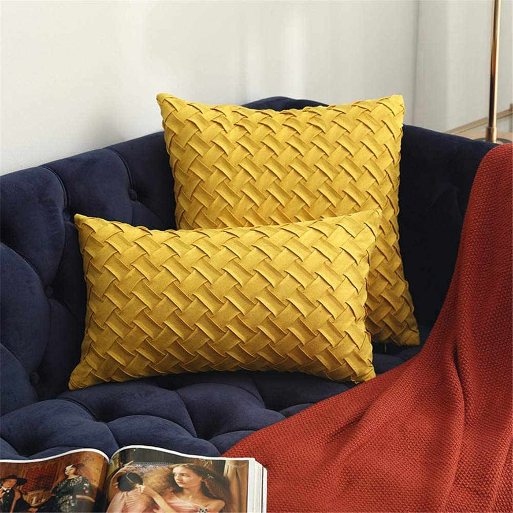 XCQ Throw Cushion Cover Pillow Suede Pil Decorative Lowest Ranking TOP3 price challenge Cases Square