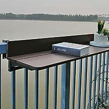 CHY Buiten Opklapbare Hangende Tafel, Balkon Opklapbare Hangende Reling Tafel, Computertafel Met Terrasleuning