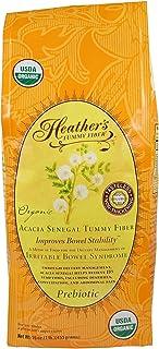 Heather's Tummy Fiber Organic Acacia Senegal for IBS, 16 Ounce Pouch