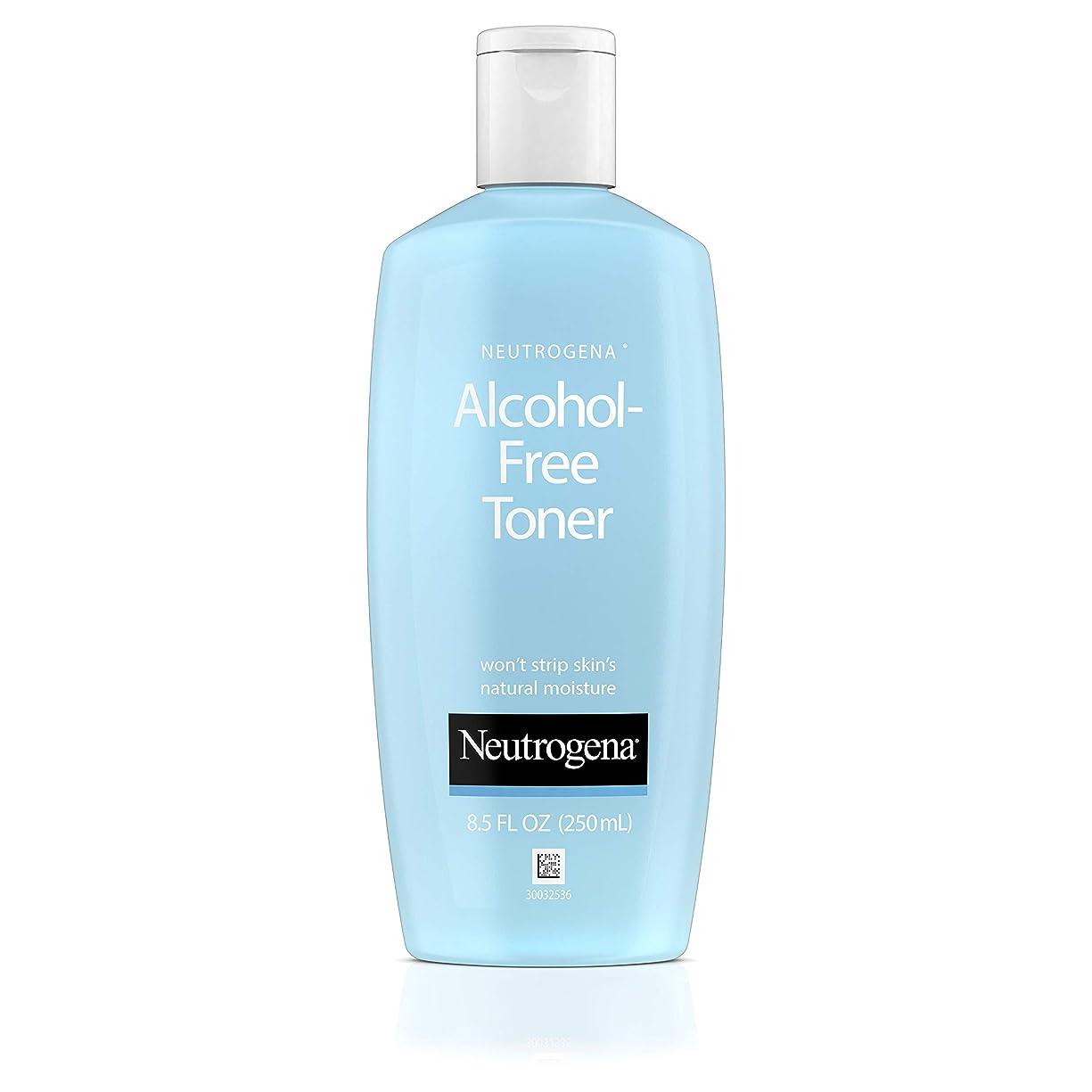 失礼協力する遠足Neutrogena Alcohol Free Toner - 8.5 oz (並行輸入品)