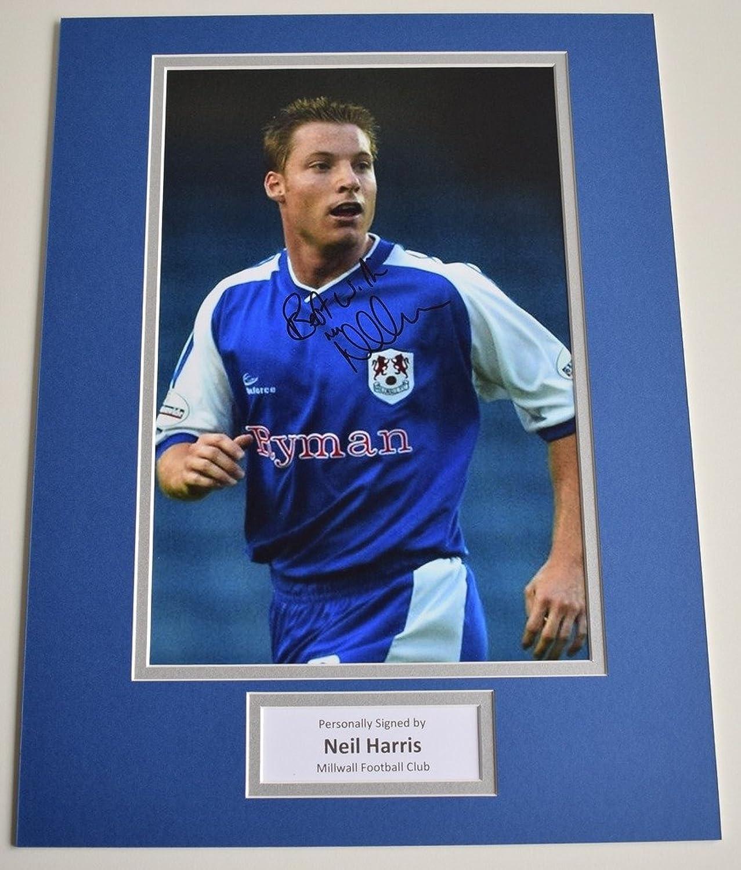 Sportagraphs Neil Harris SIGNED autograph 16x12 photo display Millwall Football AFTAL & COA PERFECT GIFT