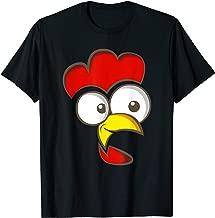 Big Eyed Chicken Halloween Costume Design T-Shirt