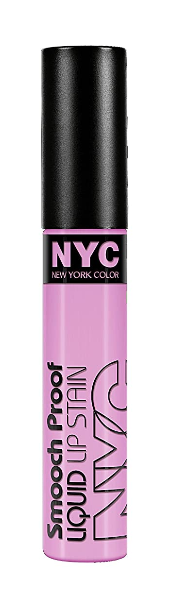 すべて強化する原稿NYC Smooch Proof Liquid Lip Stain In The Spotlight (並行輸入品)