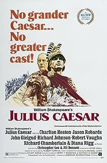 Posterazzi Julius Caesar Us Left: John Gielgud Charlton Heston 1970 Movie Masterprint Poster Print (11 x 17)