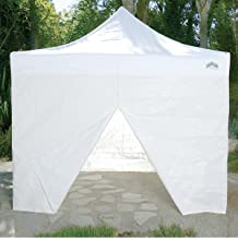 Caravan Canopy 10-Feet Canopy Sidewall Kit for Caravan Display Shade and Aluma Shade Models, White