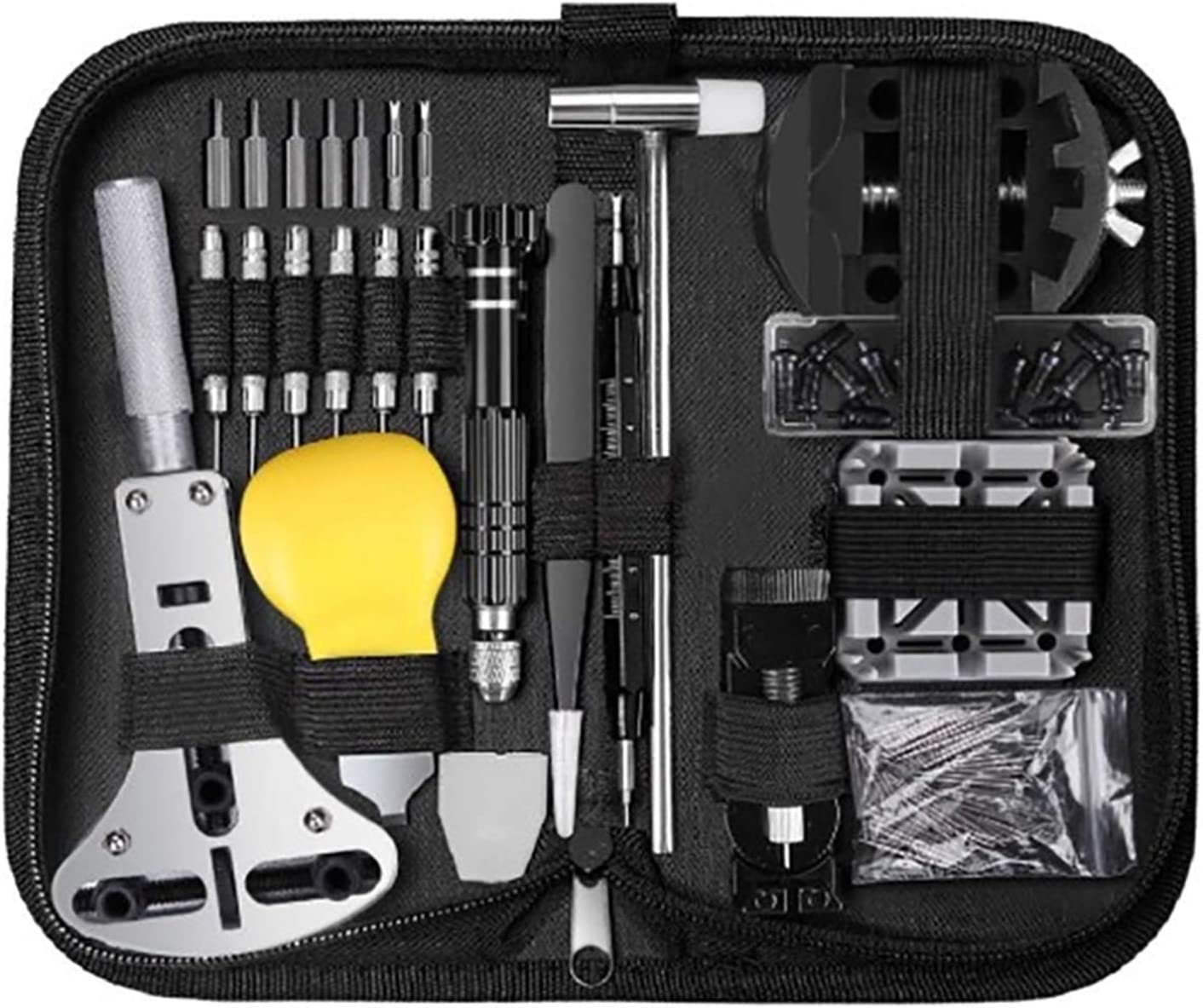 ZRNG Max 87% Popular products OFF 153 Pcs Watch Repair Kit W Bar Set Professional Tool Spring
