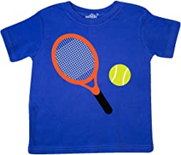 inktastic Tennis Racket and Ball Toddler T-Shirt