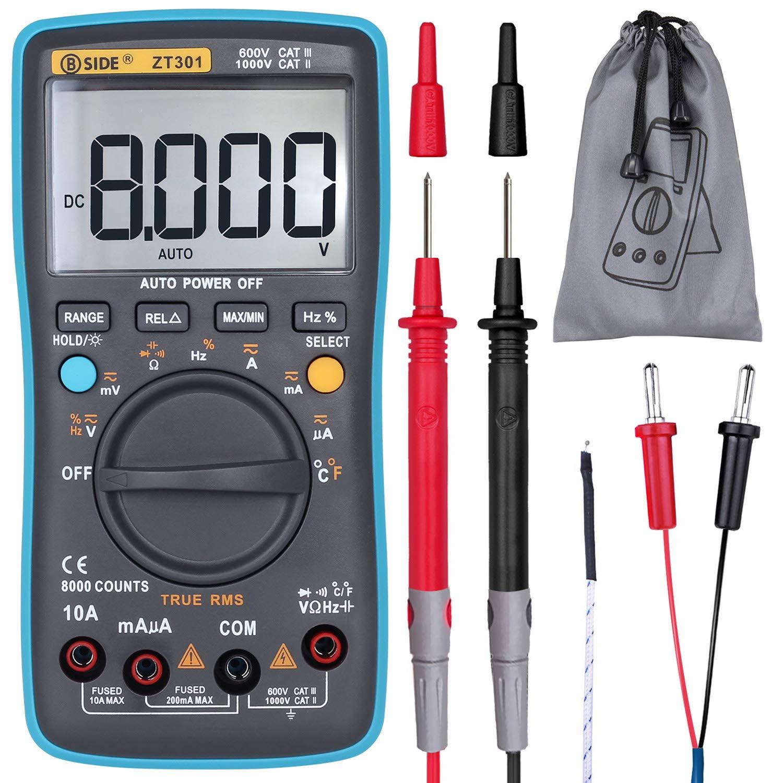 BSIDE ZT301 Auto Ranging Temperature Capacitance