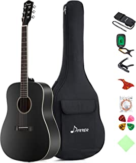black acoustic guitar price