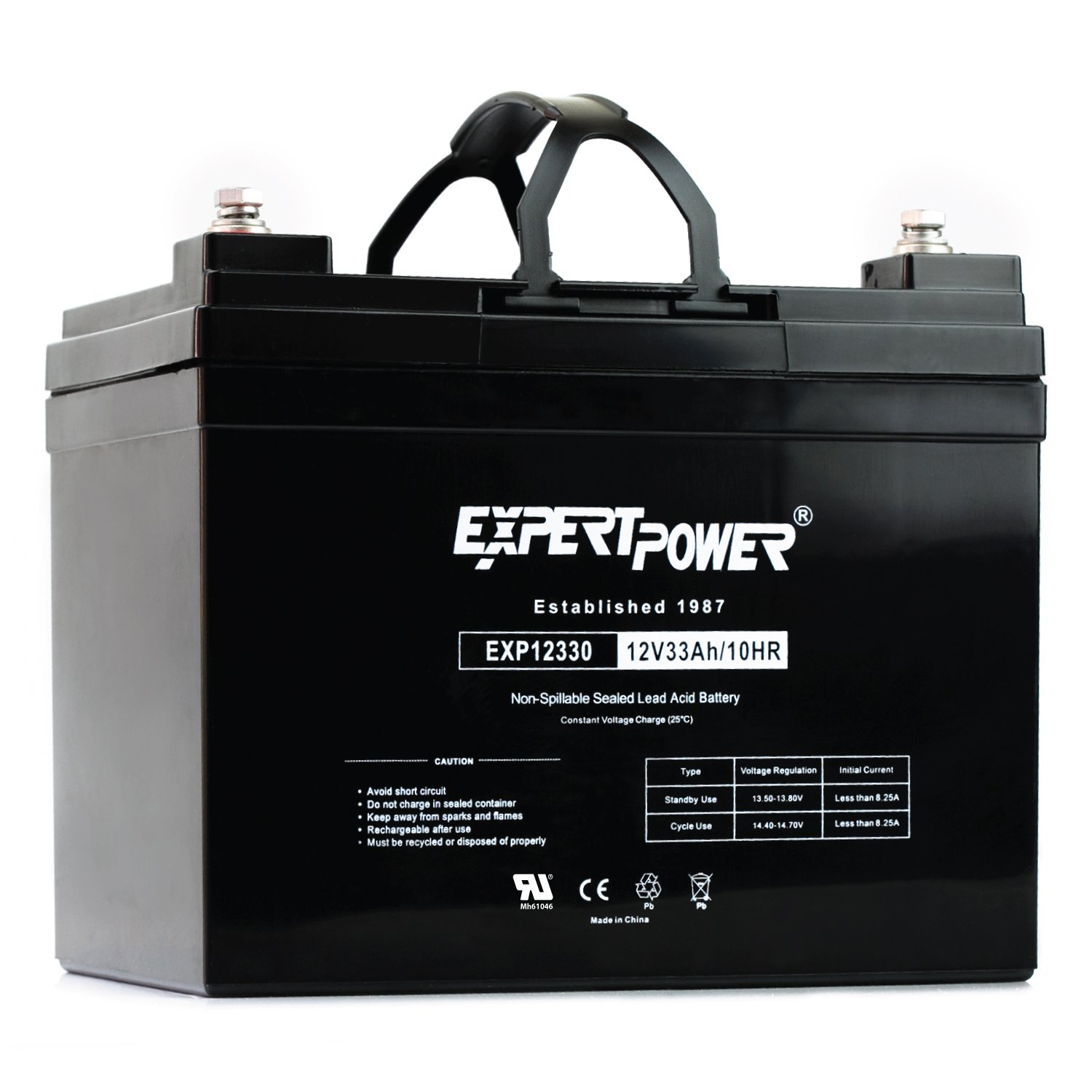 ExpertPower Rechargeable Battery EXP12330 Replaces