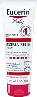 Eucerin Baby Eczema Relief Body Cream - Steroid & Fragrance Free for 3+ Months Of Age - 8 Oz. Tube