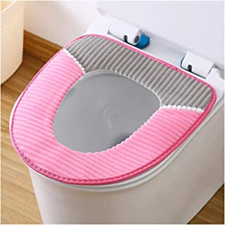 Soft Padding Toilet Lid Seat Cover 4 Pieces Sticky and Thick Padding Soft