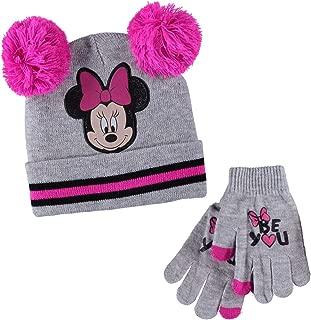 Minnie Mouse Girls' Beanie & Mittens Set