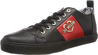 Love Moschino Scarpad.Gomma 30 Mm, Nappa PU, Chaussures de Gymnastique Femme