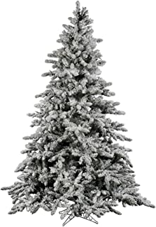 Vickerman Flocked Utica with 2443 Tips, 9-Feet by 72-Inch
