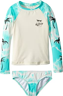Billabong Kids Peace 4 You Rashguard Set (Little Kids/Big Kids)