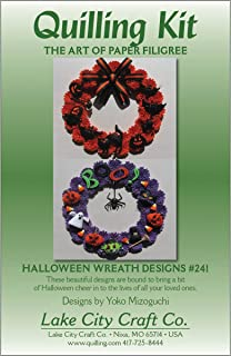 LAKE CITY CRAFT Quilling Kit, Halloween Wreaths
