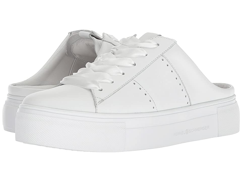 Kennel & Schmenger Big Sneaker Mule (White Calf) Women