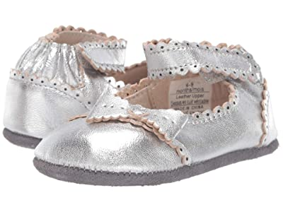 Robeez Catherine Mini Shoez (Infant/Toddler) (Silver) Girl