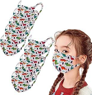 Atmungsaktiv Gesichtsvisier Face Gesichtsschutz und Nasenschutz mit 20 fil-TER Baumwolle Waschbar Anti-Spuck Mund Shield eiuEQIU 5er Pack Set Unisex Wendbar Mundschutz Mund