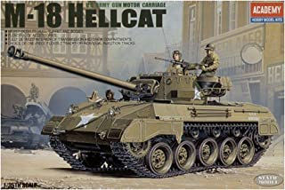 Academy M-18 Hellcat U.S Army 1/35 Plastic Model Kit Europe M 18 Super Hellcat By Academy