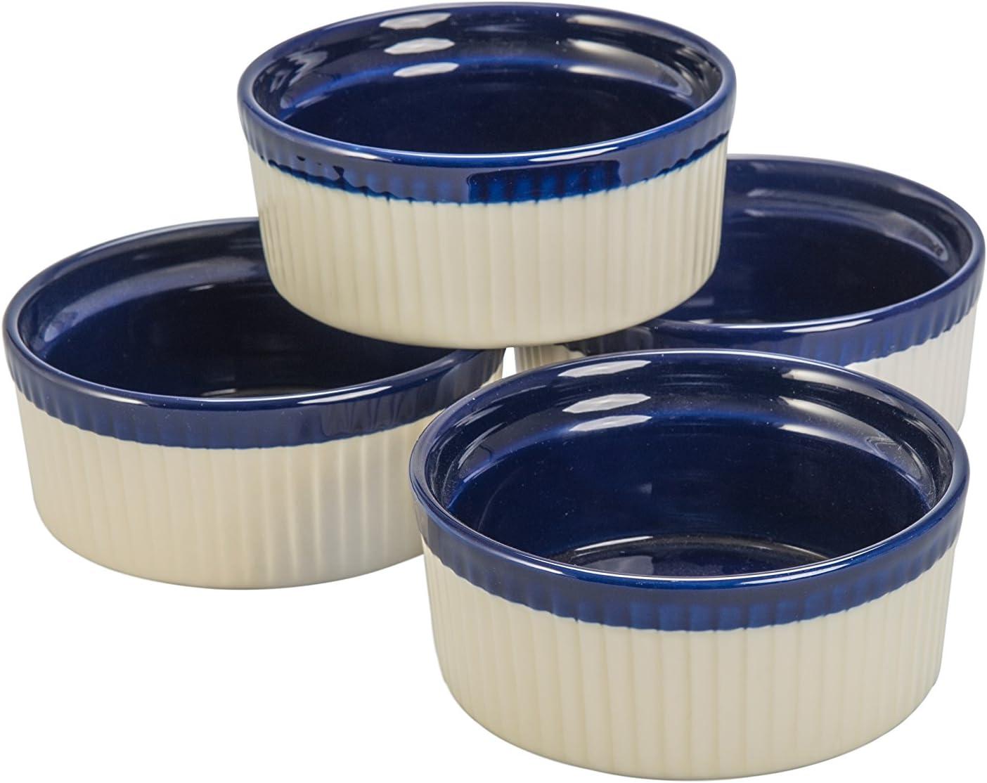 Fort Worth Mall BIA Cordon Bleu Quatro 10-Ounce Soufflé Set Dish of Cob New Free Shipping 4 Sand