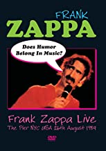 Does Humor Belong in Music? Frank Zappa Live