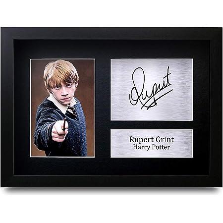 HWC Trading Rupert Grint Ron Weasley A4 Enmarcado Regalo De Visualización De Fotos De Impresión De Imagen Impresa Autógrafo Firmado por Harry Potter ...