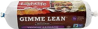 Lightlife Gimme Lean Meatless Veggie Sausage, 1 lb. (2 Pack)