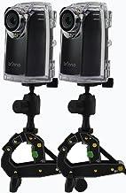 همراه با لوازم جانبی دوربین دو پکیج Brinno BCC200 w / pack & w لوازم جانبی مناسب برای سایت های ساختمانی و امنیت در فضای باز 80 روز عمر باتری ، 720p HD ، باتری های مورد مقاوم در برابر آب و هوا
