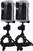 Brinno BCC200 Time Lapse Camera Two-Pack Bundle w/Mount & Accessories Best For Construction Sites & Outdoor Security 80 DAYS Battery Life, 720p HD, Weather Resistant Case Batteries Included