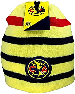 ESF Club America Winter Fitted Reversible Knit Beanie Hat Skully Cap