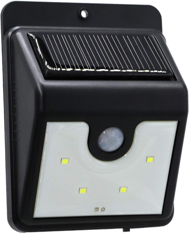 Light 4LED Wasserdichte LED Solar Power PIR Bewegungsmelder Wandleuchte Outdoor Street Hof KüWei Sicherheit Lampe (1 STüCKE)