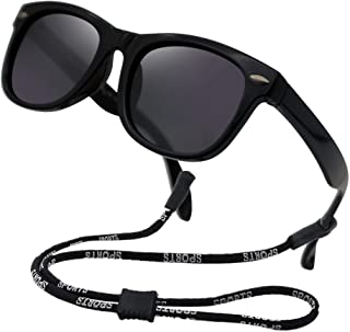 Kids Flexible Polarized Sunglasses for Boys Girls Age...